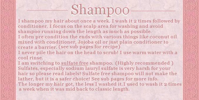 hair care-shampoo